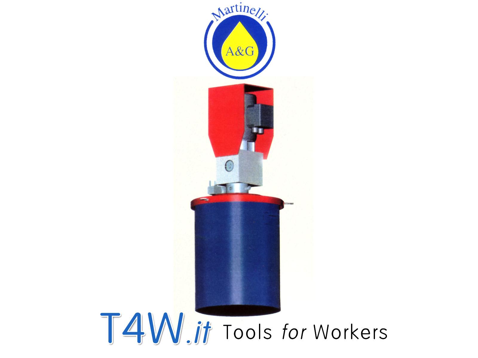 Pompa per grasso elettrica ABNOX Art. 2570 Martinelli -