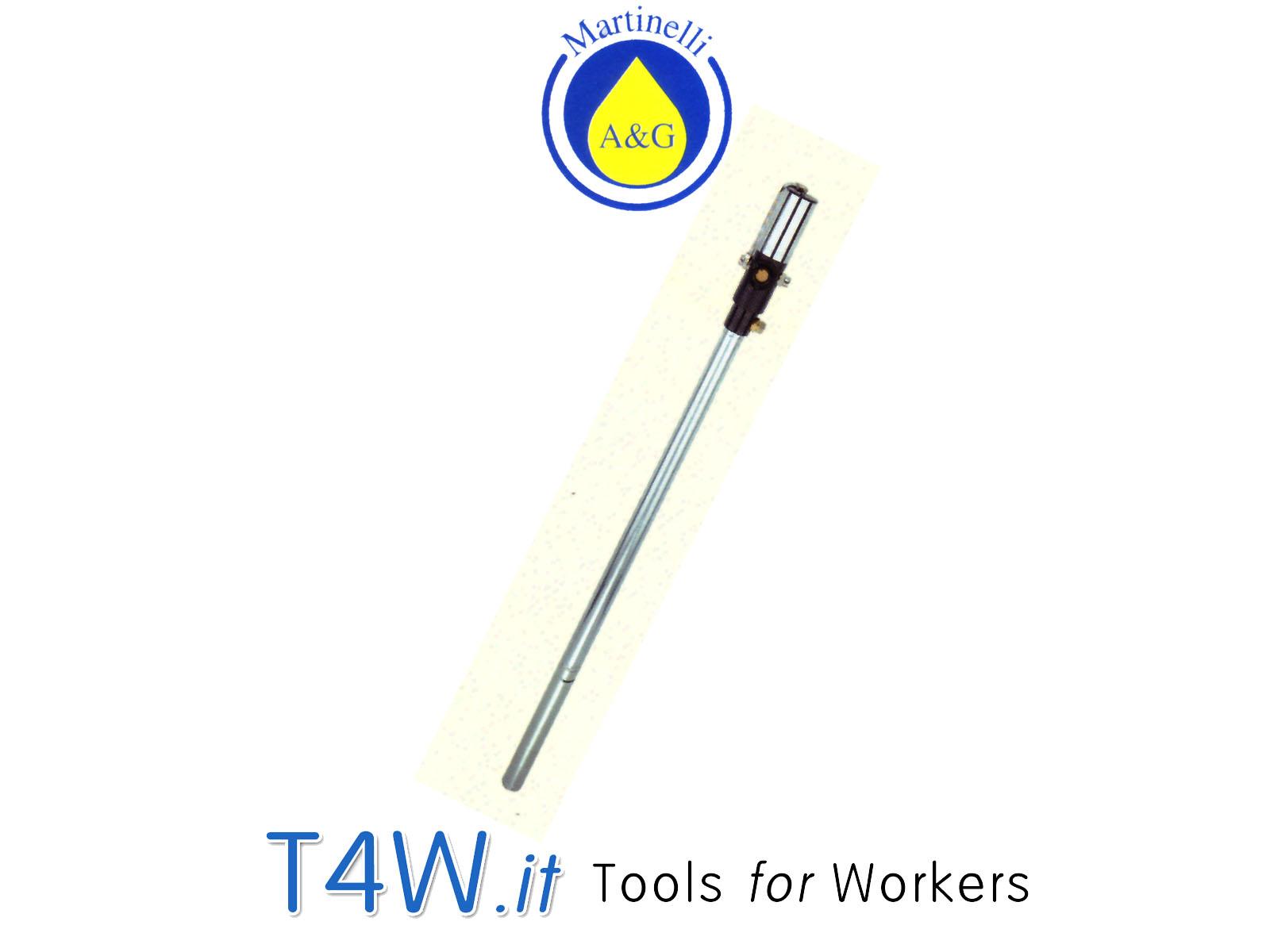 Pompa pneumatica olio per fusti kg. 200 Art. 2603 Martinelli -