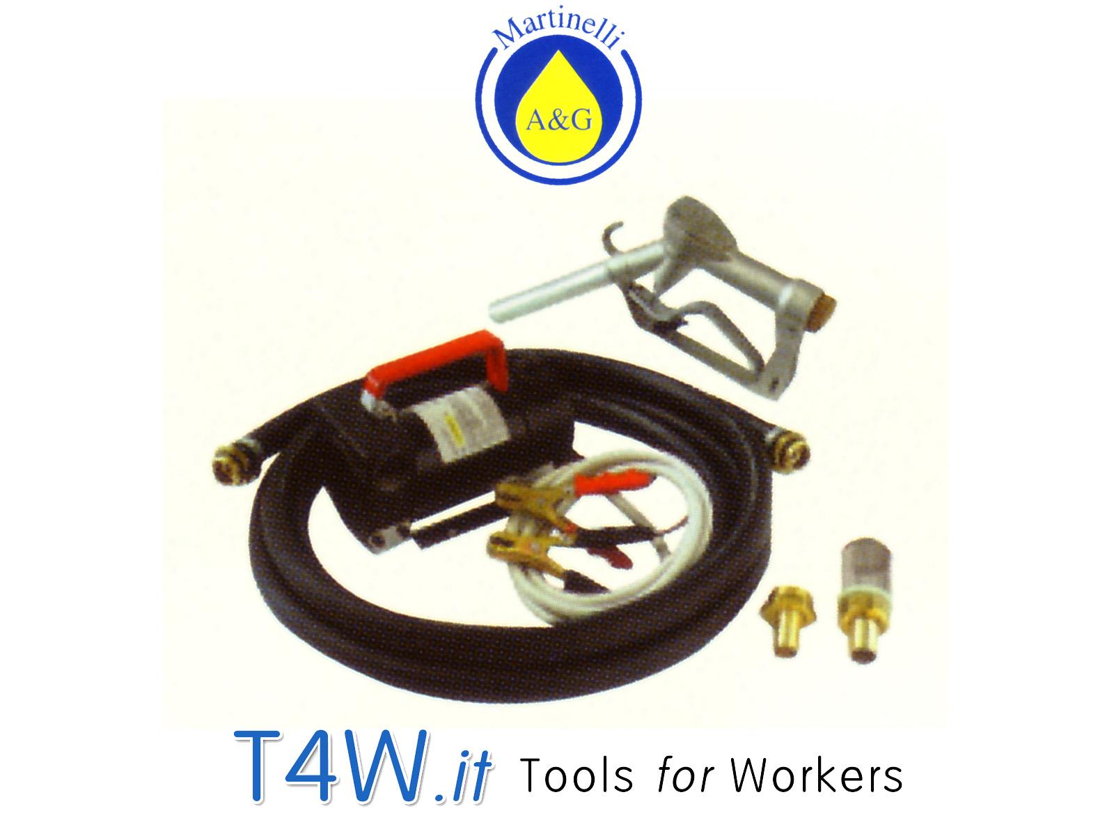 Kit pompa elettrica per gasolio 12 - 24 V Art. 2703 Martinelli -