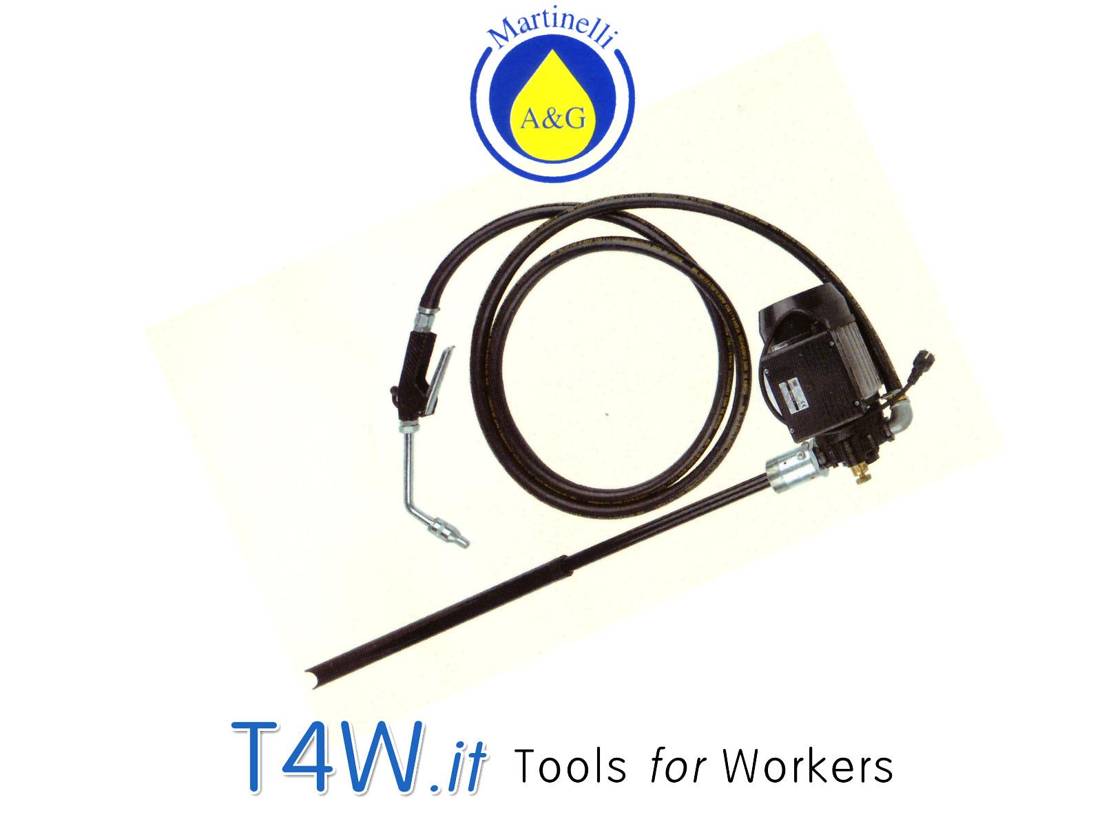 Pompa elettrica per fusti 220 Volt Art. 2709 Martinelli -