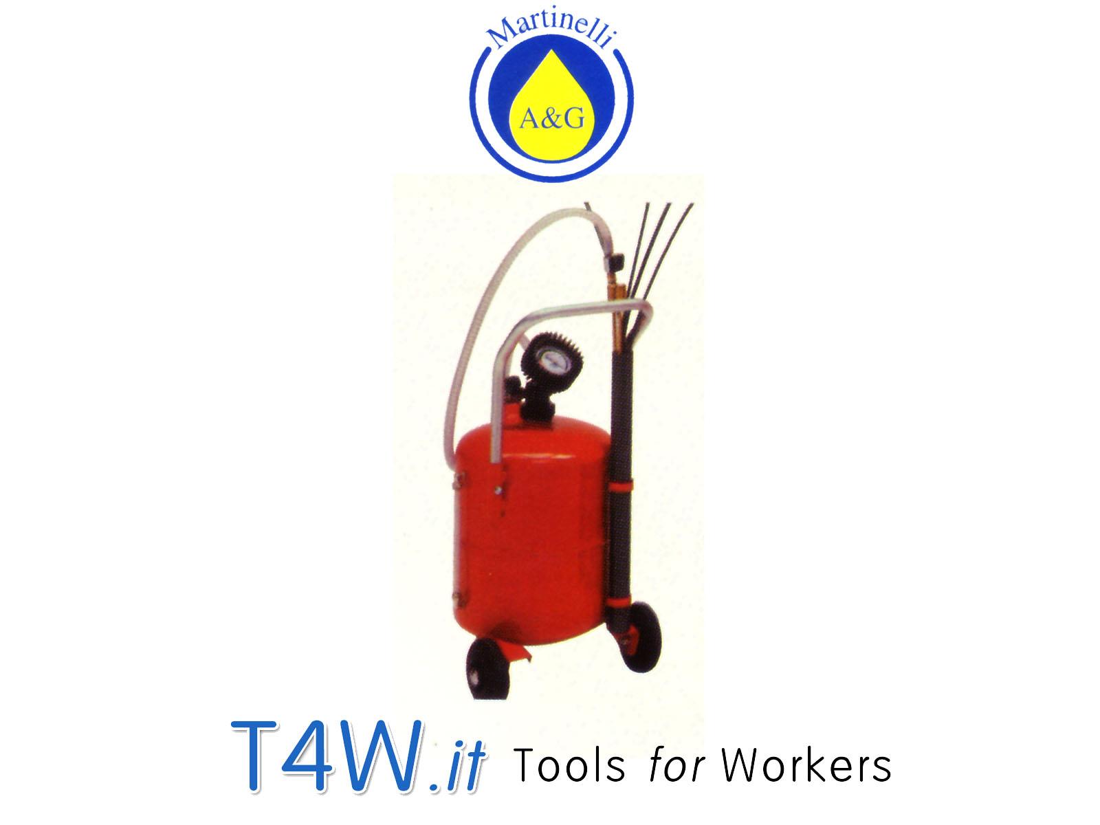 Aspiratore pneumatico per olio lt. 24 Art. 2800 Martinelli -
