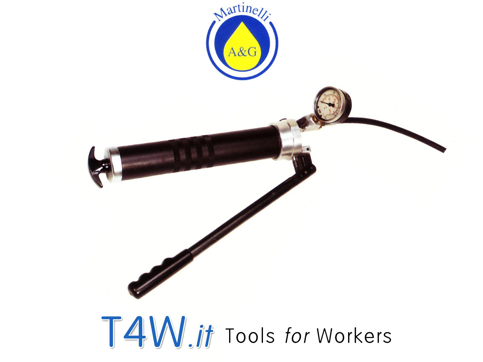 Pompa alta pressione per chiusure idrauliche Art. 3155 Martinelli -