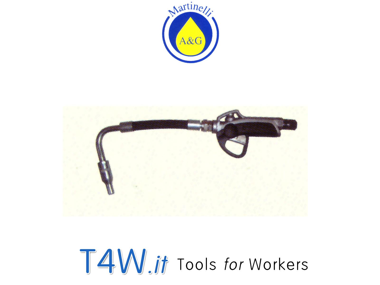 Pistola per olio con estremità flessibile Art. 3350 Martinelli -