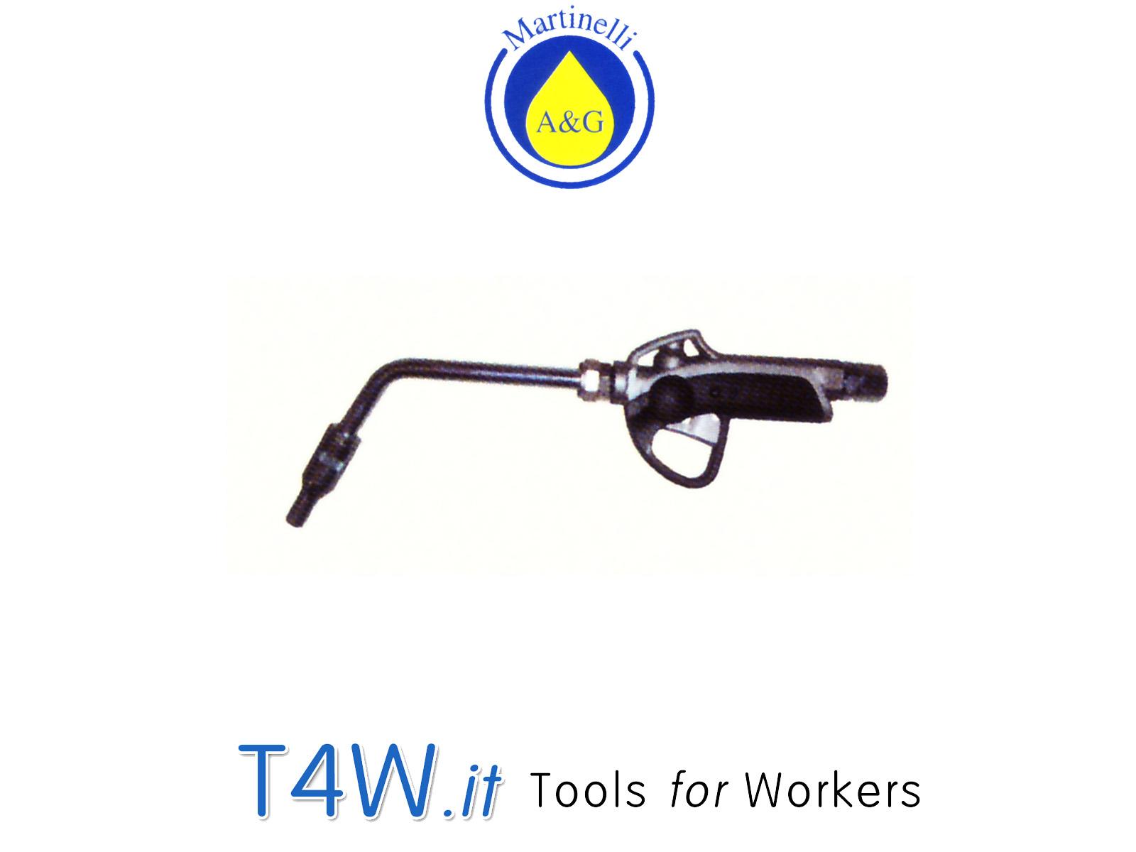 Pistola olio con estremità rigida Art. 3351 Martinelli -