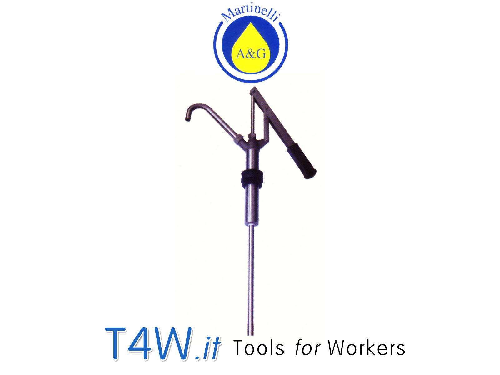 Pompa travaso acciaio inox Art. 3420 Martinelli -