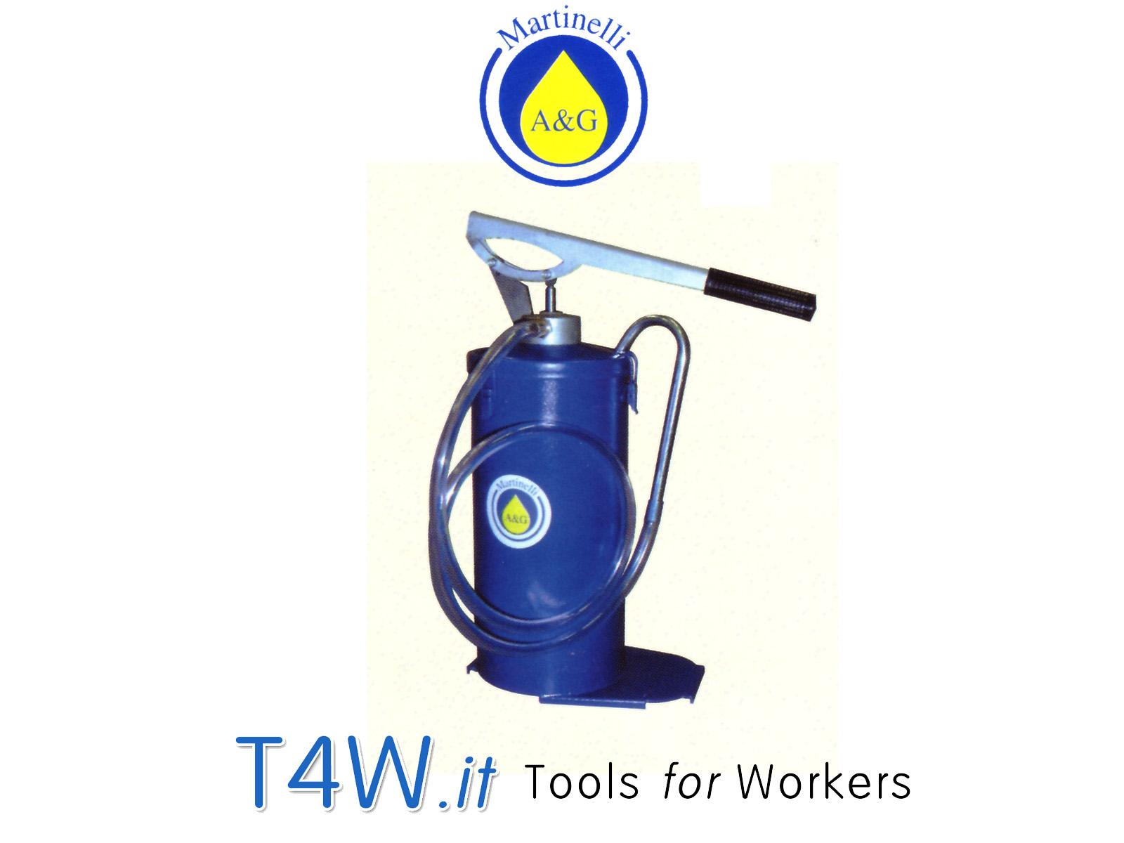 Pompa a barile per olio kg. 8 Art. 408 Martinelli -